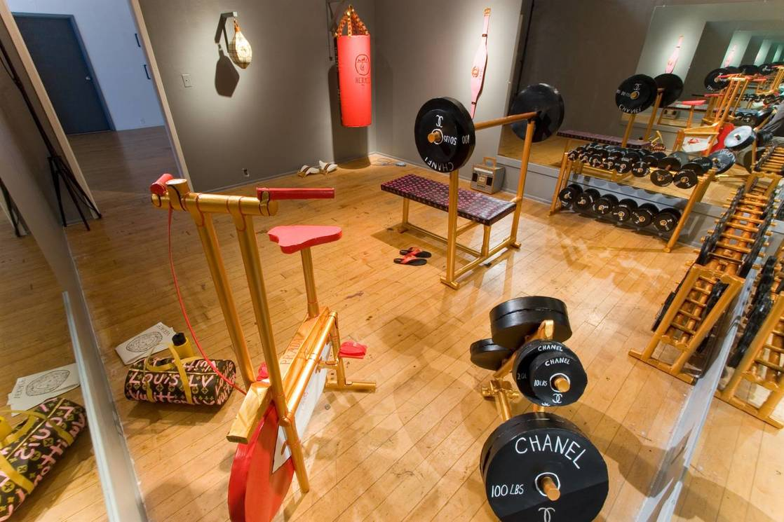 Work Out (installation view)