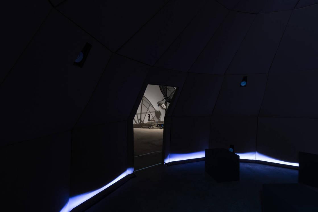 Inside Sonic Plaentarium